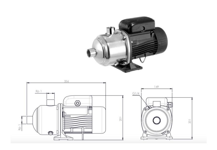 230-300 l/h Pre Pump