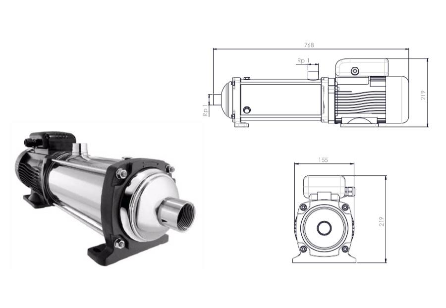 230 l/h Pump