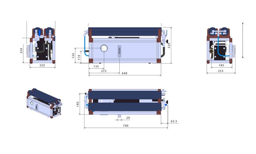 Modular 35 drawings