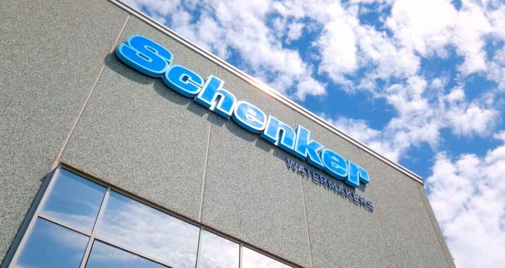 Schenker Watermakers factory in Naples.
