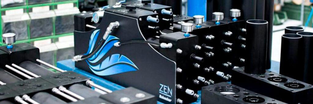 Zen 30 watermakers into the Schenker production site.