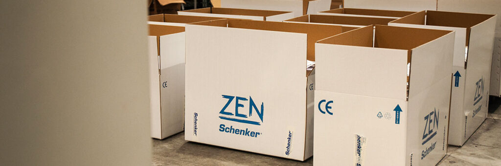 Zen watermakers ready to be shipped all around the world.