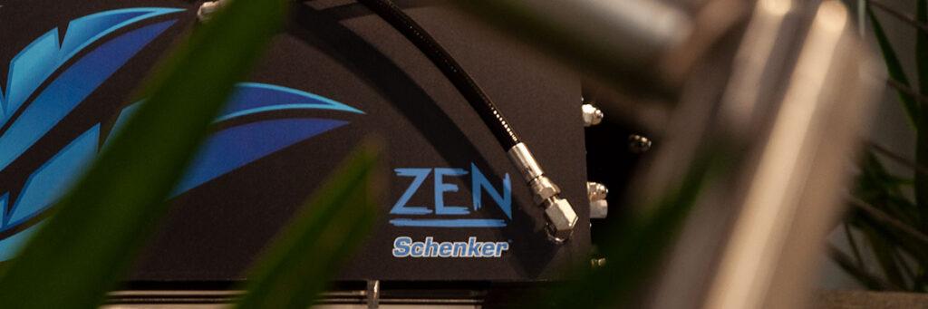 A Schenker Zen watermaker in the company head-quarter.